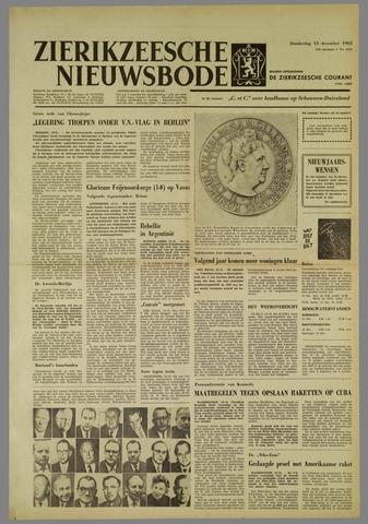 Zierikzeesche Nieuwsbode 1962-12-13