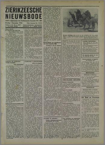 Zierikzeesche Nieuwsbode 1942-12-01