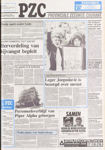 Provinciale Zeeuwse Courant 1988-10-17
