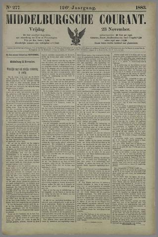 Middelburgsche Courant 1883-11-23