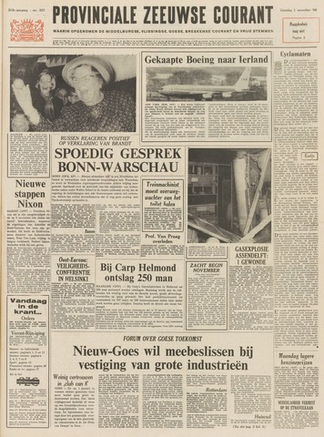 Provinciale Zeeuwse Courant 1969-11-01