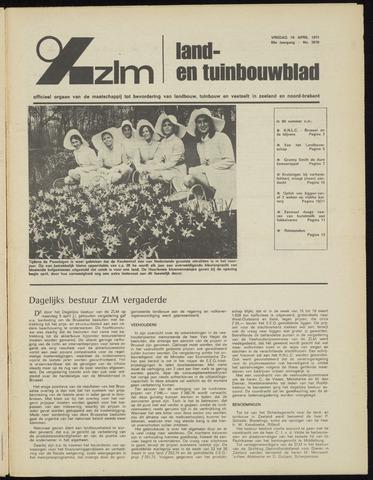 Zeeuwsch landbouwblad ... ZLM land- en tuinbouwblad 1971-04-16