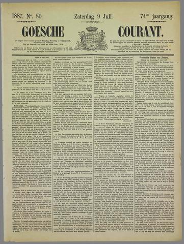 Goessche Courant 1887-07-09