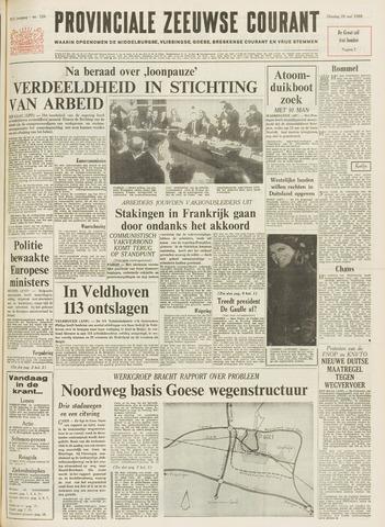 Provinciale Zeeuwse Courant 1968-05-28