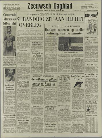 Zeeuwsch Dagblad 1962-07-31