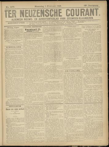 Ter Neuzensche Courant. Algemeen Nieuws- en Advertentieblad voor Zeeuwsch-Vlaanderen / Neuzensche Courant ... (idem) / (Algemeen) nieuws en advertentieblad voor Zeeuwsch-Vlaanderen 1928-02-06