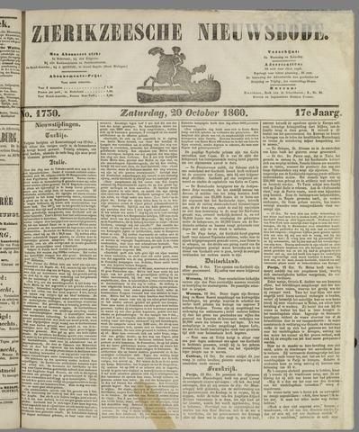 Zierikzeesche Nieuwsbode 1860-10-20