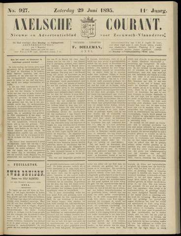 Axelsche Courant 1895-06-29