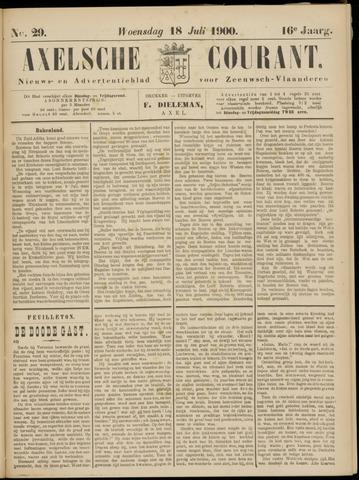 Axelsche Courant 1900-07-18