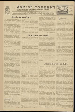 Axelsche Courant 1953-10-03