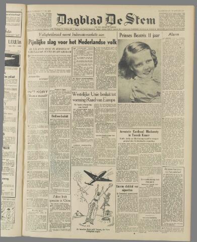 de Stem 1949-01-29