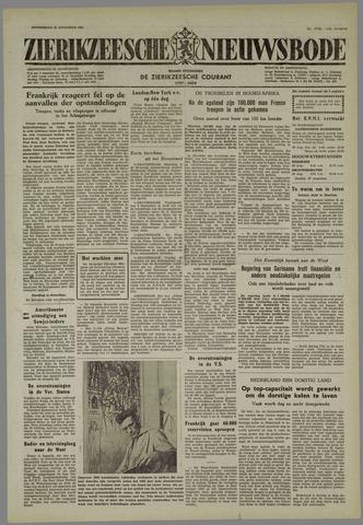 Zierikzeesche Nieuwsbode 1955-08-25