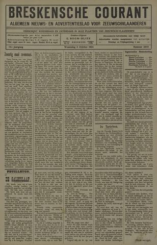 Breskensche Courant 1924-10-08