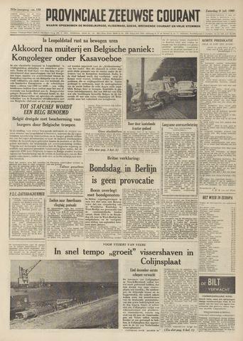 Provinciale Zeeuwse Courant 1960-07-09
