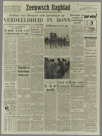 Zeeuwsch Dagblad 1962-05-11