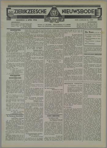 Zierikzeesche Nieuwsbode 1936-04-06