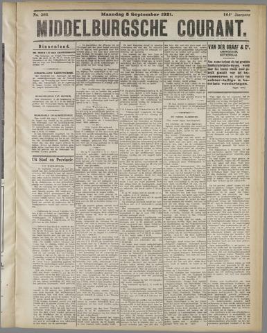Middelburgsche Courant 1921-09-05