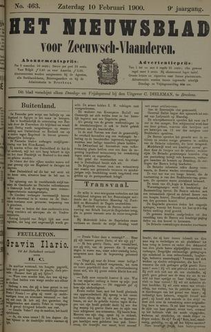Nieuwsblad voor Zeeuwsch-Vlaanderen 1900-02-10