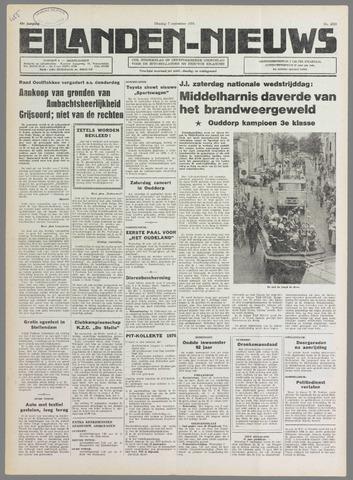 Eilanden-nieuws. Christelijk streekblad op gereformeerde grondslag 1976-09-07