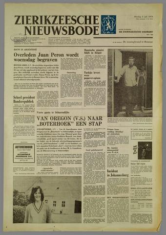 Zierikzeesche Nieuwsbode 1974-07-02