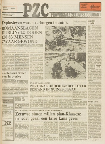 Provinciale Zeeuwse Courant 1974-05-18