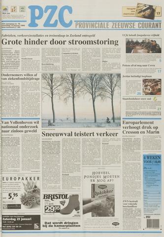 Provinciale Zeeuwse Courant 1999-01-13