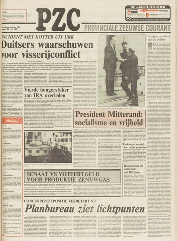 Provinciale Zeeuwse Courant 1981-05-22