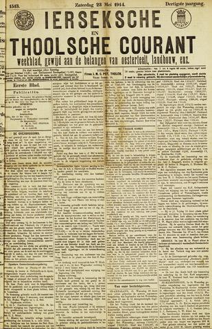 Ierseksche en Thoolsche Courant 1914-05-23