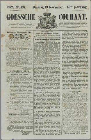 Goessche Courant 1872-11-19