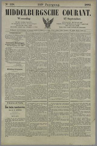 Middelburgsche Courant 1882-09-27