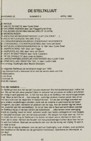 de Steltkluut 1992-04-01