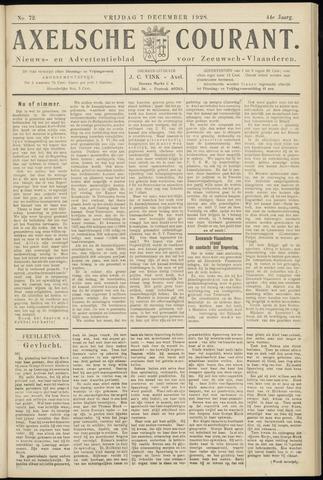 Axelsche Courant 1928-12-07