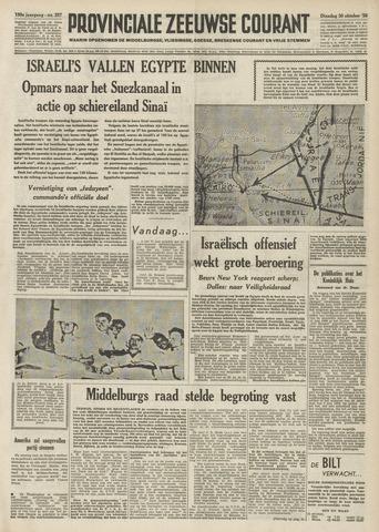 Provinciale Zeeuwse Courant 1956-10-30