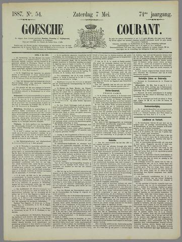 Goessche Courant 1887-05-07