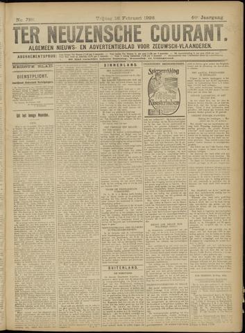 Ter Neuzensche Courant. Algemeen Nieuws- en Advertentieblad voor Zeeuwsch-Vlaanderen / Neuzensche Courant ... (idem) / (Algemeen) nieuws en advertentieblad voor Zeeuwsch-Vlaanderen 1926-02-26