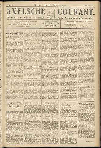 Axelsche Courant 1933-12-15