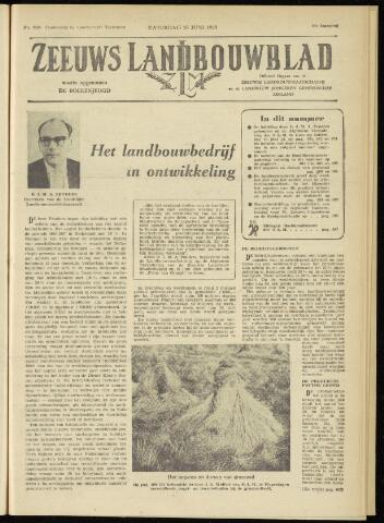 Zeeuwsch landbouwblad ... ZLM land- en tuinbouwblad 1960-06-25