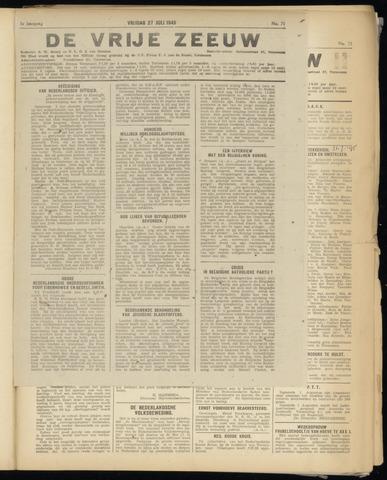 de Vrije Zeeuw 1945-07-27