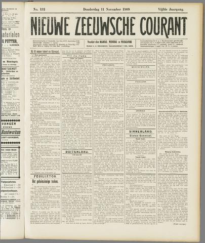 Nieuwe Zeeuwsche Courant 1909-11-11