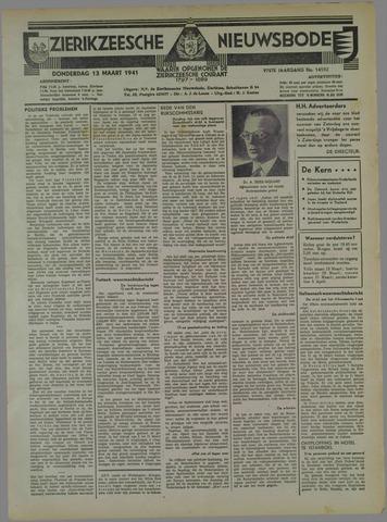 Zierikzeesche Nieuwsbode 1941-03-13