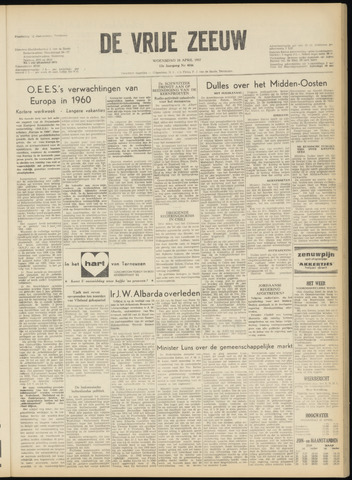 de Vrije Zeeuw 1957-04-24