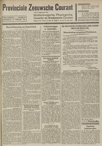 Provinciale Zeeuwse Courant 1941-02-27