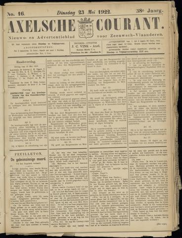Axelsche Courant 1922-05-23