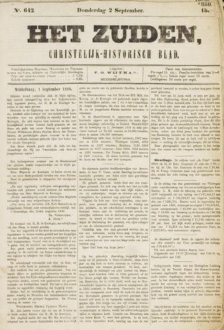 Het Zuiden, Christelijk-historisch blad 1880-09-02