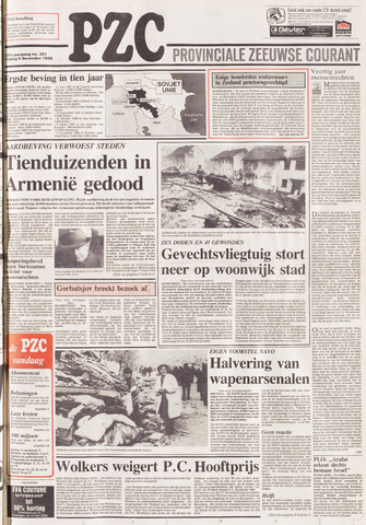 Provinciale Zeeuwse Courant 1988-12-09