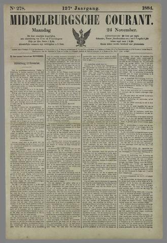 Middelburgsche Courant 1884-11-24