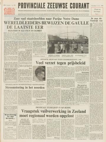 Provinciale Zeeuwse Courant 1970-11-11