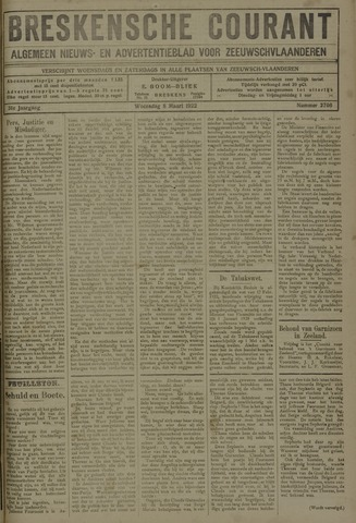 Breskensche Courant 1922-03-08