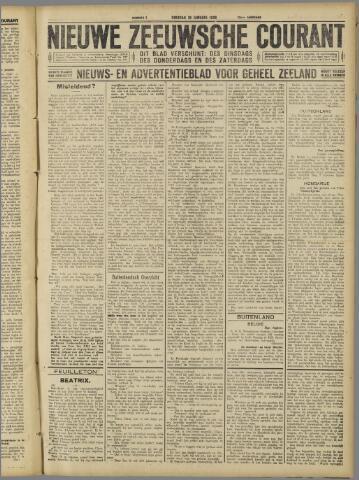 Nieuwe Zeeuwsche Courant 1926-01-19