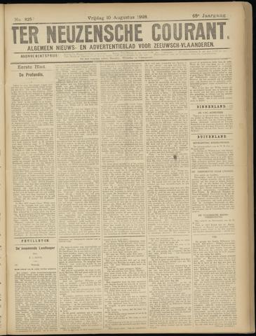 Ter Neuzensche Courant. Algemeen Nieuws- en Advertentieblad voor Zeeuwsch-Vlaanderen / Neuzensche Courant ... (idem) / (Algemeen) nieuws en advertentieblad voor Zeeuwsch-Vlaanderen 1928-08-10